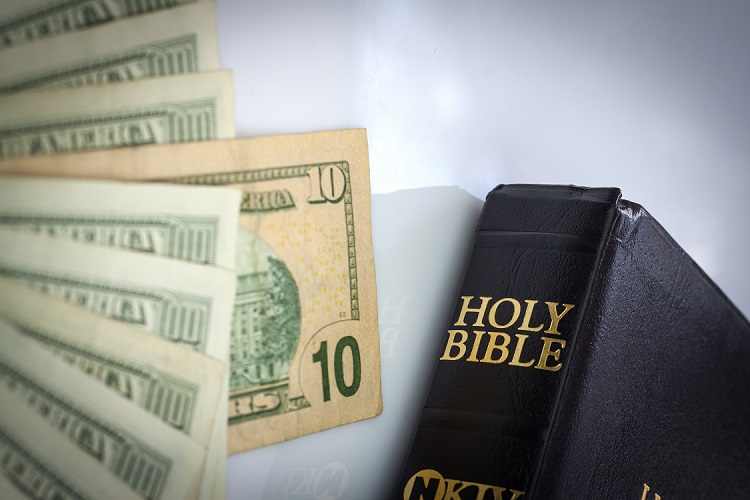 Holy Bible and money